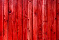 Czerwona drewniana tekstura, tło Obrazy Royalty Free