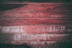 Czerwona drewniana tekstura w rocznika stylu Czerwony drewniany abstrakcjonistyczny tło Abstrakcjonistyczna tekstura i tło dla pr Fotografia Stock