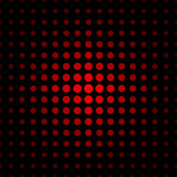 Czerwona drobina na czarnego tła bezszwowym wzorze Zdjęcie Royalty Free