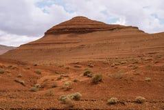 Czerwona falezy pustynia Fotografia Royalty Free
