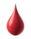 Czerwona farby kropla obrazy royalty free