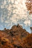 Czerwona góra zdjęcia royalty free