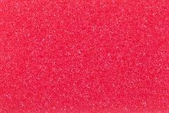 Czerwona gąbka Fotografia Stock