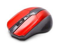 Czerwona Gamer mysz zdjęcie royalty free