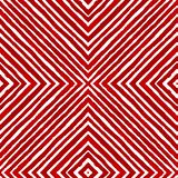 Czerwona Geometryczna akwarela Ciekawy Bezszwowy Tupocze ilustracja wektor