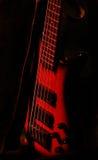 czerwona gitarę Obrazy Stock