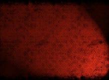 czerwona grunge tekstura Fotografia Stock