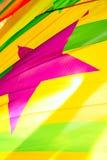 czerwona gwiazda bandery Zdjęcie Royalty Free