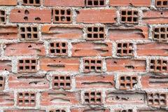 Czerwonej cegły tekstura. Zdjęcie Royalty Free