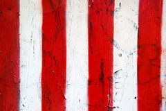 Czerwona i biała grunge tekstura Fotografia Royalty Free