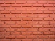 Czerwona i brown ściana z cegieł tekstura Zdjęcia Royalty Free