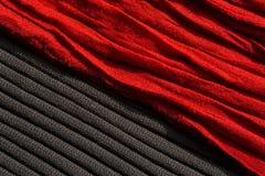 Czerwona i czarna tekstura obrazy stock