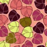 Czerwona jesień Obraz Stock