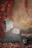 Czerwona jesień Zdjęcie Royalty Free