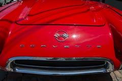 Czerwona korweta Fotografia Royalty Free