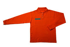 czerwona koszula Zdjęcia Royalty Free