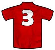 Czerwona koszula trzy Obraz Royalty Free