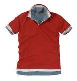 Czerwona koszulka fotografia royalty free