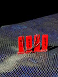 Czerwona Koszulowa Polityczna sztuka Zdjęcia Stock