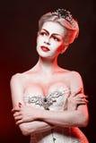 Czerwona królowa Obraz Royalty Free