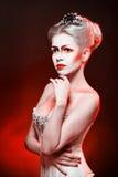 Czerwona królowa Zdjęcia Royalty Free