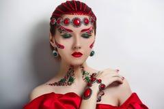 Czerwona Królowa Obraz Stock