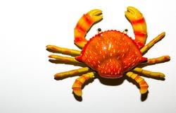 Czerwona krab zabawka Fotografia Stock