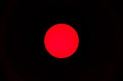 Czerwona kropka Zdjęcia Royalty Free