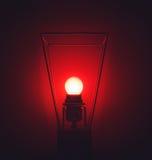 Czerwona lampa Obraz Stock