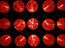 Czerwona lampa Zdjęcie Royalty Free