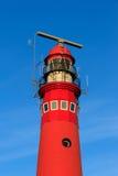 Czerwona latarnia morska Zdjęcia Stock