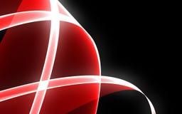 czerwona linia Fotografia Stock