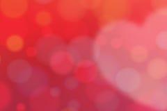 Czerwona miłość Backgrond Zdjęcie Royalty Free