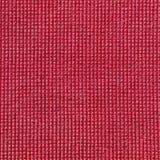 Czerwona microfiber płótna tekstura Zdjęcie Royalty Free