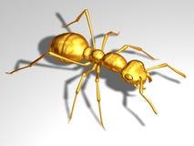 Czerwona mrówka ilustracja wektor