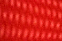Czerwona nonwoven tkanina na kolorze żółtym Obrazy Royalty Free