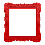 Czerwona ozdobna rama Obraz Royalty Free