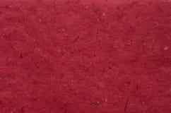 czerwona papierowa konsystencja Zdjęcia Royalty Free
