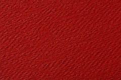 czerwona papierowa konsystencja Tło Fotografia Stock