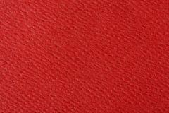 czerwona papierowa konsystencja Tło Fotografia Royalty Free