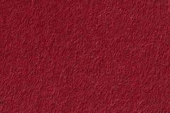 czerwona papierowa konsystencja Tło Obrazy Stock