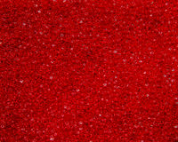 Czerwona piankowa guma Fotografia Royalty Free