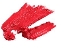 Czerwona pomadka Zdjęcie Stock