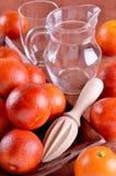 Czerwona pomarańcze Obrazy Stock