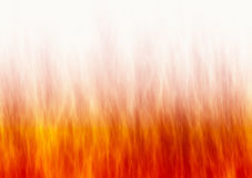 Czerwona płomienia ogienia tekstura na białych tło Zdjęcia Royalty Free