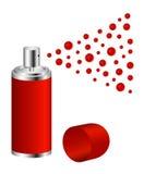 czerwona projekt kiść Fotografia Stock