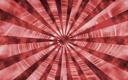Czerwona Przędzalniana Vortex tapeta Zdjęcie Stock