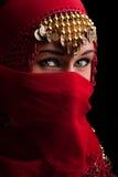 czerwona przesłona fotografia royalty free