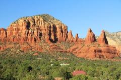 Czerwona Rockowa formacja w Sedona Arizona Obrazy Royalty Free