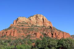 Czerwona Rockowa formacja w Sedona Arizona Obraz Royalty Free